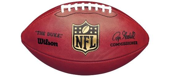 """Wilson® Football Game Ball """"The Duke"""""""