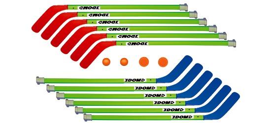 """Dom® Hockeyschläger-Set """"Junior"""""""