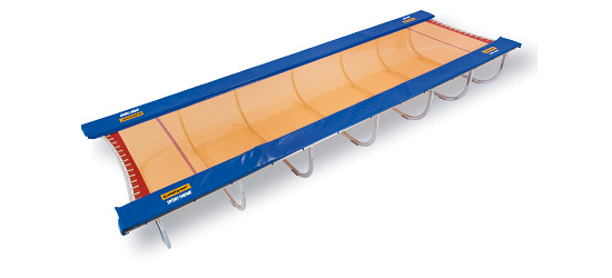 Eurotramp® Trampolinbahn weiche Ausführung, 800x200x72 cm