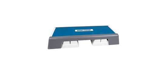 Sport-Thieme® Aerobic Step Weiß-Blau