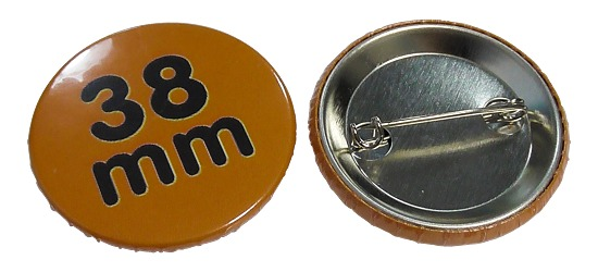 Button-Rohmaterial Für 38 mm Button