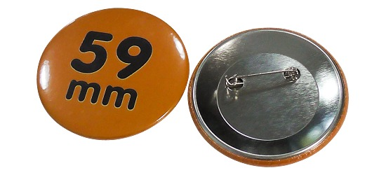 Button-Rohmaterial Für 59 mm  Button