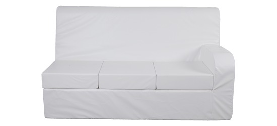 Sport-Thieme® Verwandlungs-Sofa 3er Sofa, Lehne rechts, 5 cm