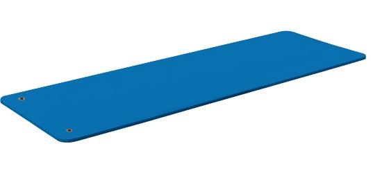 """Sport-Thieme® Gymnastikmatte """"Club 15"""" Mit Ösen, Blau"""