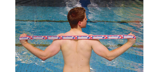 Sport-Thieme® Elastiband 15 kg, Grau