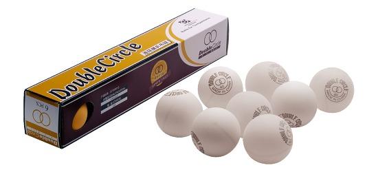 Double-Circle Tischtennisbälle Bälle Weiß