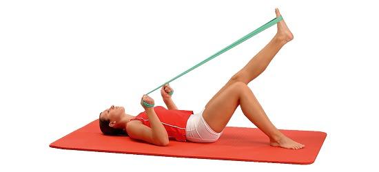 Sport-Thieme® Fitness-Band 150 2 m x 15 cm, Grün = leicht