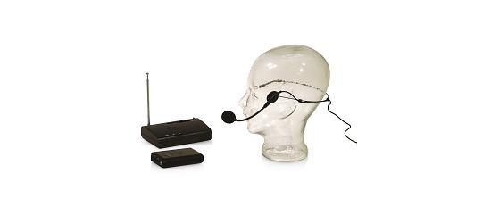 Aschenbach Funkmikrofon-Anlage Mit Headset und Taschensender