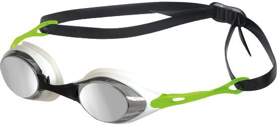 """Arena® Schwimmbrille """"Cobra Mirror"""" Smoke-Silver-Green"""