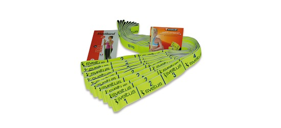 Sveltus Elastiband-Set Zugstärke 10 kg