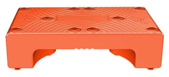 """Aqua-Stepper """"Puzzle Step"""" Orange"""