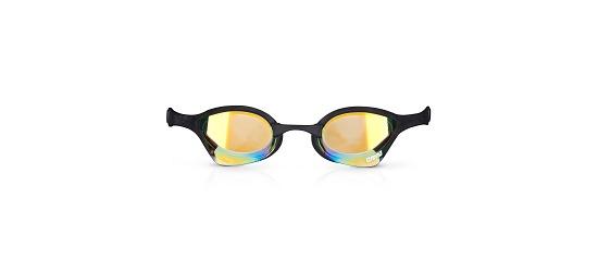 """Arena® Schwimmbrille """"Ultra Cobra"""" Yellow Revo/Black"""
