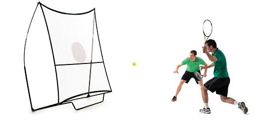 Mobile Tenniswand