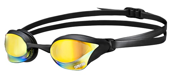 """Arena® Schwimmbrille """"Cobra Core Mirror"""" Yellow/Black/Yellow"""