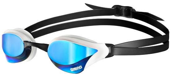 """Arena® Schwimmbrille """"Cobra Core Mirror"""" Redrevo-White-Black"""