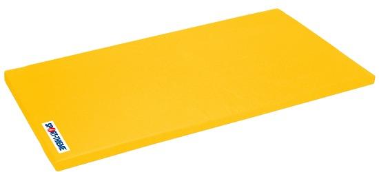 "Sport-Thieme® Turnmatte ""Super"", 150x100x6 cm Basis, Polygrip Gelb"