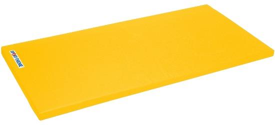 "Sport-Thieme® Turnmatte ""Super"", 200x125x8 cm Basis, Polygrip Gelb"