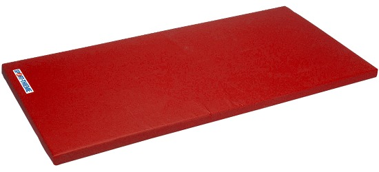 "Sport-Thieme® Turnmatte ""Spezial"", 200x100x8 cm Basis, Polygrip Rot"
