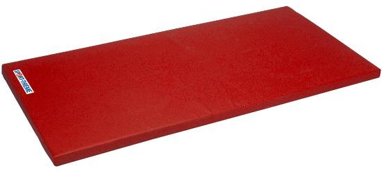"Sport-Thieme® Turnmatte ""Spezial"", 200x125x6 cm Basis, Polygrip Rot"