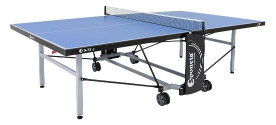 """Sponeta® Tischtennisplatte  """"S 5-72 e / S 5-73 e"""" Blau"""