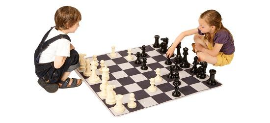 """Achoka Spielteppich Set """"Schach"""""""