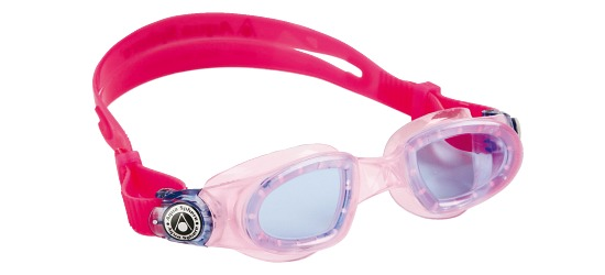 "Aqua Sphere Kinder-Schwimmbrille ""Moby Kid"" Pink"