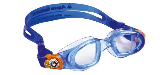 "Aqua Sphere Kinder-Schwimmbrille ""Moby Kid"" Blau"