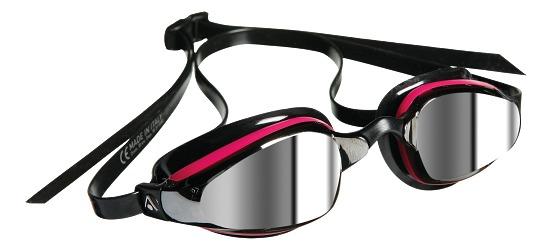 """Aqua Sphere® MP™ Schwimmbrille """"K180"""" Lady verspiegelt Schwarz/Pink"""