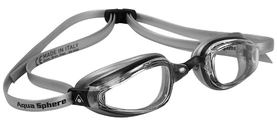 "Aqua Sphere® MP™ Schwimmbrille ""K180+"" Transparent"
