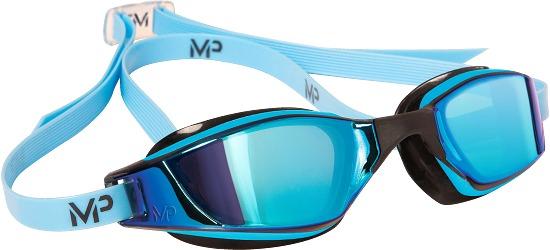"Aqua Sphere® MP™ Schwimmbrille ""Xceed Titanium"" Blau/Schwarz"