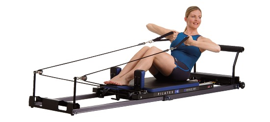 Balanced Body Pilates IQ Reformer Horizontal wheels