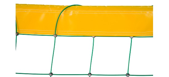 Beach Volleyball Net, made from Dralo® Plastic coating
