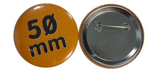 Button-Rohmaterial Für 50 mm Button