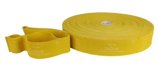 "CanDo® Multi-Grip™ Fitnessband ""Exerciser Rolle"" Gold, maximal stark"