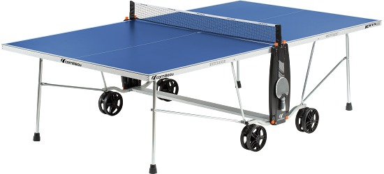 "Cornilleau® ""100 S Crossover"" Table Tennis Table Blue"