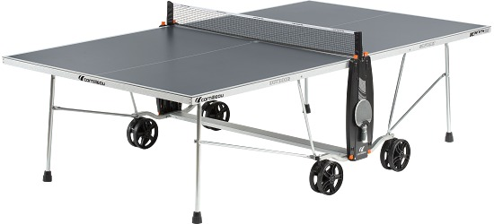 "Cornilleau® ""100 S Crossover"" Table Tennis Table Grey"