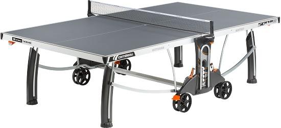 """Cornilleau® Tischtennisplatte """"500 M Crossover"""" Grau"""