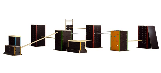 "Cube Sports Parkour ""School Set III"""