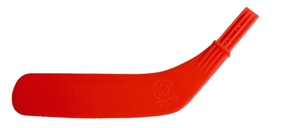 "Dom Replacement Blade for ""Junior"" Hockey Stick Red blade"