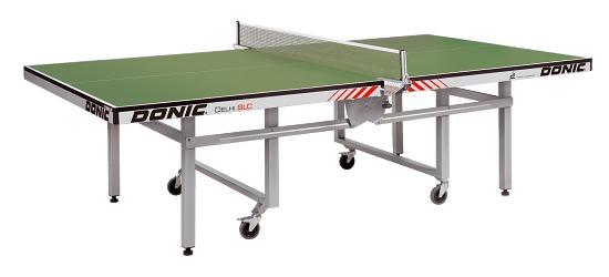 """Donic Tischtennisplatte  """"Dehli SLC"""" Grün"""