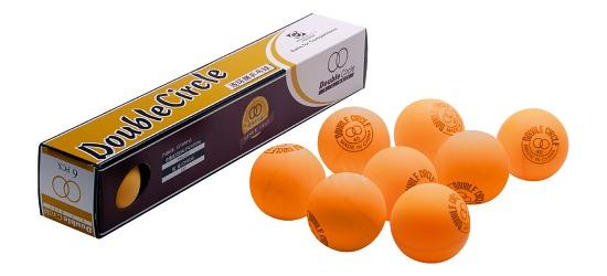 Double-Circle Tischtennisbälle Bälle Orange
