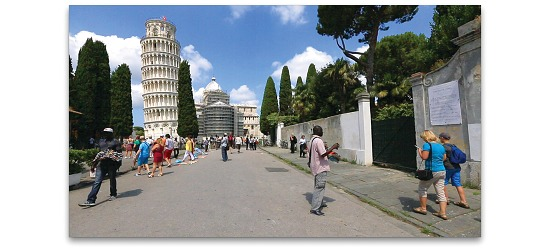 DVDer Naturoplevelser DVD Gåtur i Italien