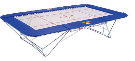 """Eurotramp """"Grand Master Super Special""""  Trampoline With rolling stand"""