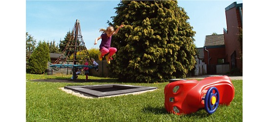 """Eurotramp® Kids Tramp """"Playground Mini"""" Sprungtuch eckig"""