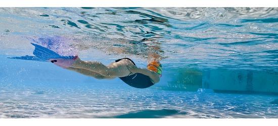Finis® Monoflosse Meerjungfrauen für Kinder Lila