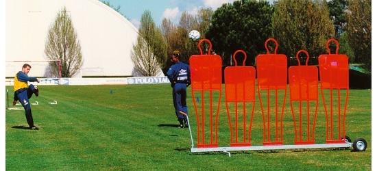 Free Kick Training Wall Trolley