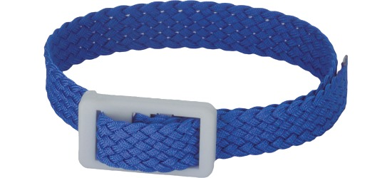 Garderoben- und Schlüsselband Blau
