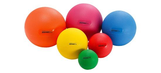 Gymnic® Heavymed 500 g, ø 10 cm, Grøn