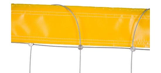 Hærværkssikret volleyballnet fra Dralo® Uden polstring