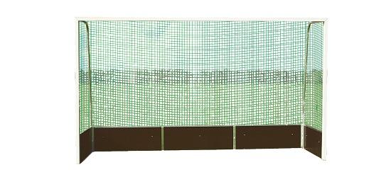 Hallenhockey-Tornetze Schnurstärke 3 mm, Maschenweite 4,5 cm